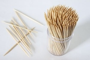 Dental implant patients in Gainesville, FL can damage their oral health with toothpick usage